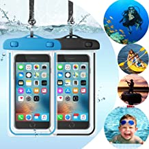 Universal Waterproof Case,Topwey Waterproof Phone Pouch Cellphone Dry Bag for iPhone 11/11 Pro Max/Xs Max/XR/X/8/8P Galaxy up to 6.5
