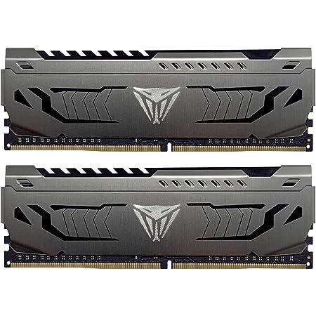 Patriot Viper Steel DDR4 3600MHz PC4-28800 16GB (2 x 8GB) CL17 アルミニウム製ヒートシンク デスクトップ用メモリ 永久保証 PVS416G360C7K