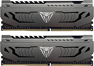 Patriot Viper Steel DDR4 16GB (2 x 8GB) 3733MHz Kit w/Gunmetal Grey heatshield