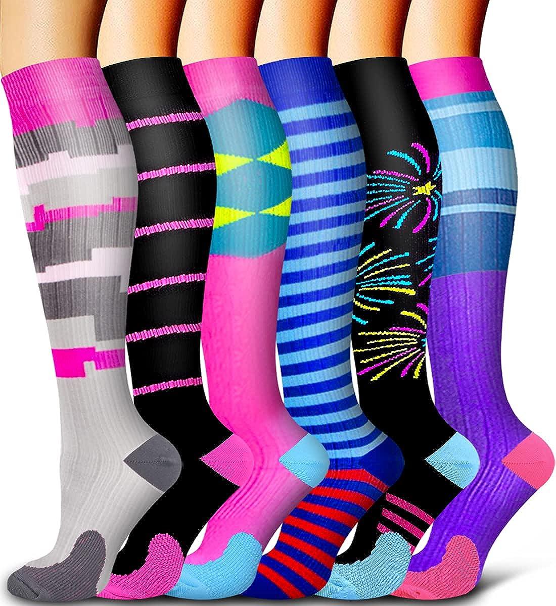 6 Pack Compression Socks Circula Ranking TOP16 - Women Men depot