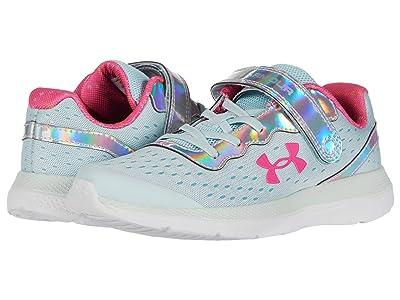 Under Armour Kids Impulse Prism (Little Kid) (Rift Blue/Blue Haze/Pink Craze) Girls Shoes