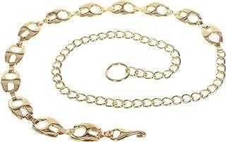 Ladies Fashion Metal Chain Belt