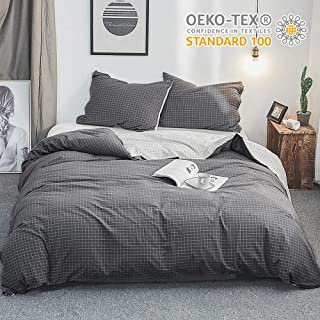 Best duvet cover grey and white Reviews