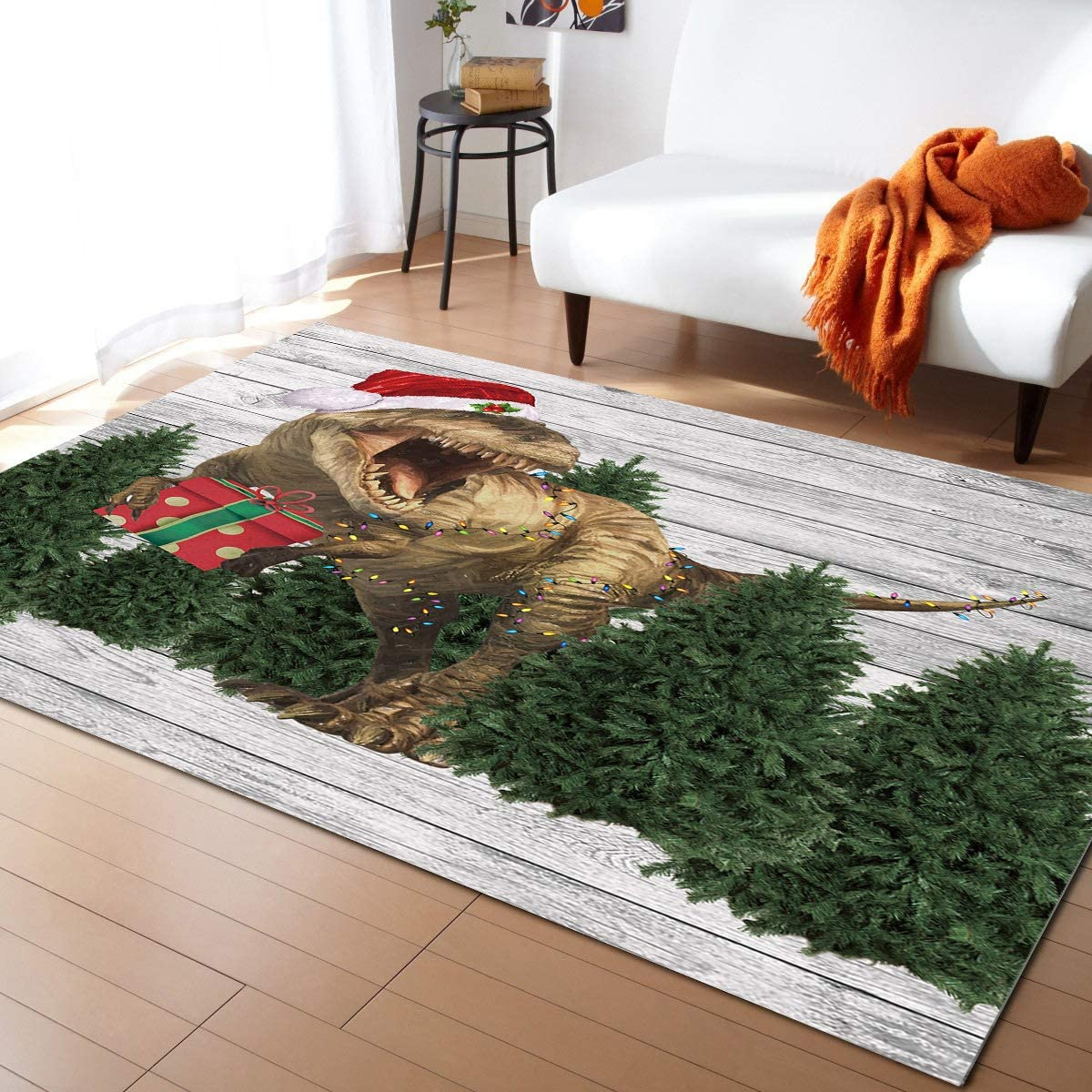 Modern Area Rugs for Living Room Wearing Animer and Outlet sale feature price revision Dinosaur Feet 3x5 Chri