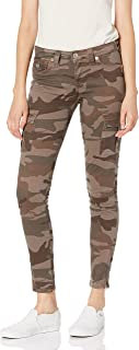 TRUE RELIGION womens Camo Cargo Skinny Fit Pant Pants and Jumpsuits