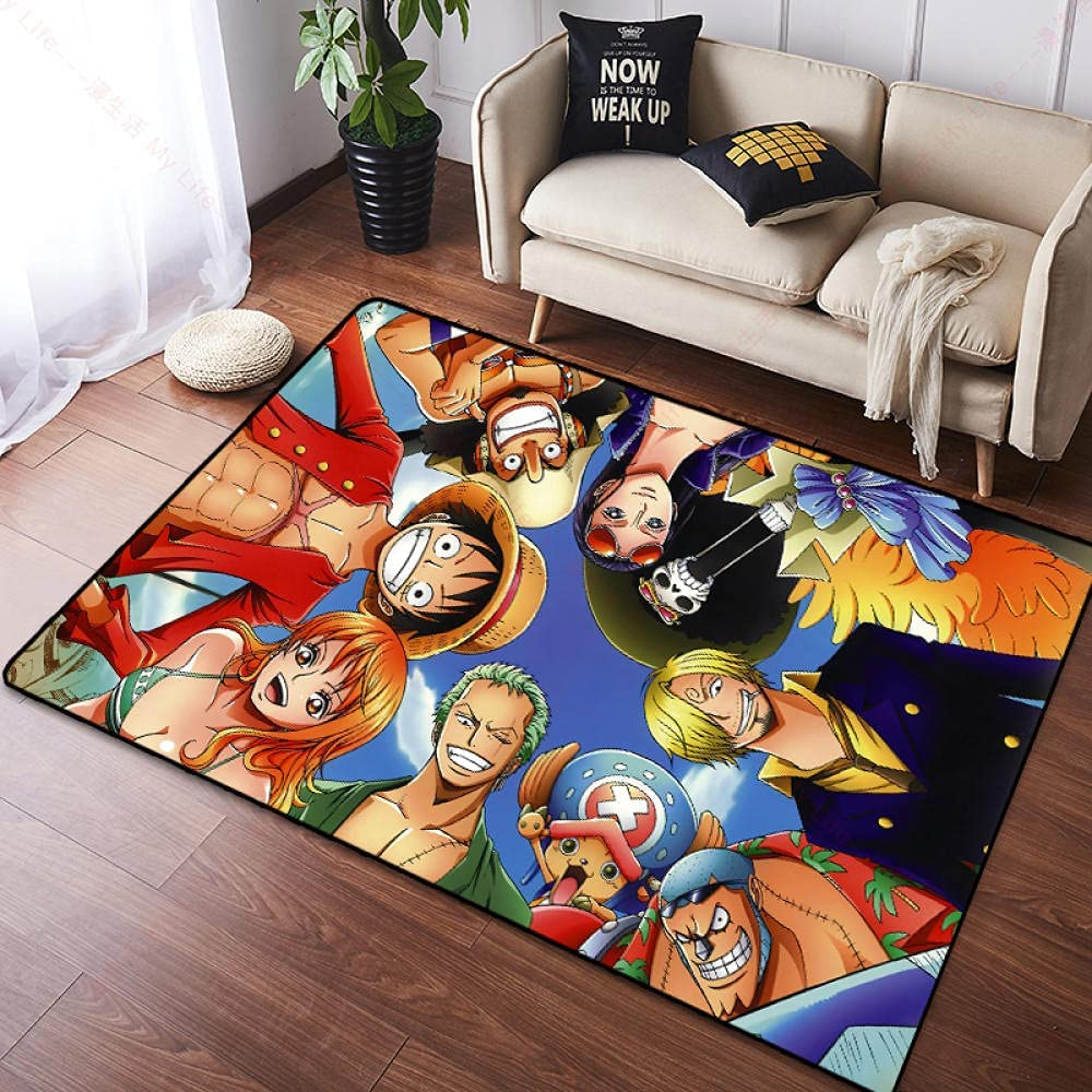 3D Non-Slip Area Rug Floor Mat Anime Japanese Directly managed store Carpet K Reservation Piece One
