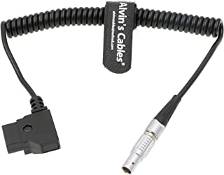 Alvin's Cables 2 Pin to D TAP Power Coiled Cable for Bartech Focus Device Receiver