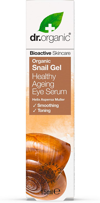Dr Organic Serum para el Contorno de Ojos Snail 15 ml