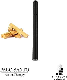 Organic Palo Santo Inhaler - Grounding Aromatherapy - 100% Natural Ingredients - Clarifying & Balancing