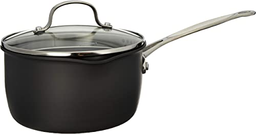 lowest Cuisinart Chef's Classic Nonstick high quality Hard-Anodized 2-Quart Cook and 2021 Pour Saucepan online sale