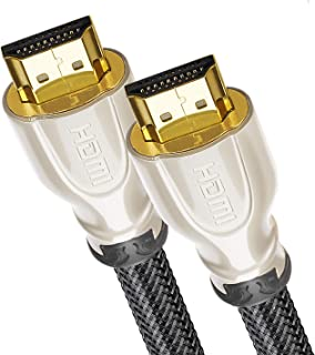 HDMI Cable 4K / HDMI Cord 3ft - Ultra HD 4K Ready HDMI 2.0 (4K@60Hz 4:4:4) - High Speed 18Gbps - 28AWG Braided Cord-Ethernet /3D / HDR/ARC/CEC/HDCP 2.2 / CL3 by Farstrider