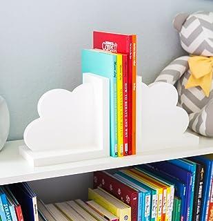 Cloud Bookends for Kids Room Baby Nursery Decor Bedroom...