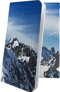 Xperia Z SO-02E ケース 手帳型 風景 山 自然 雪山 写真 エクスペリア 手帳型ケース 和柄 和風 日本 japan 和 SO02E XperiaZ 星 星柄 星空 宇宙 夜空 星型