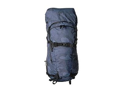 Burton AK Incline 40L Pack (Arctic Camo Print) Day Pack Bags