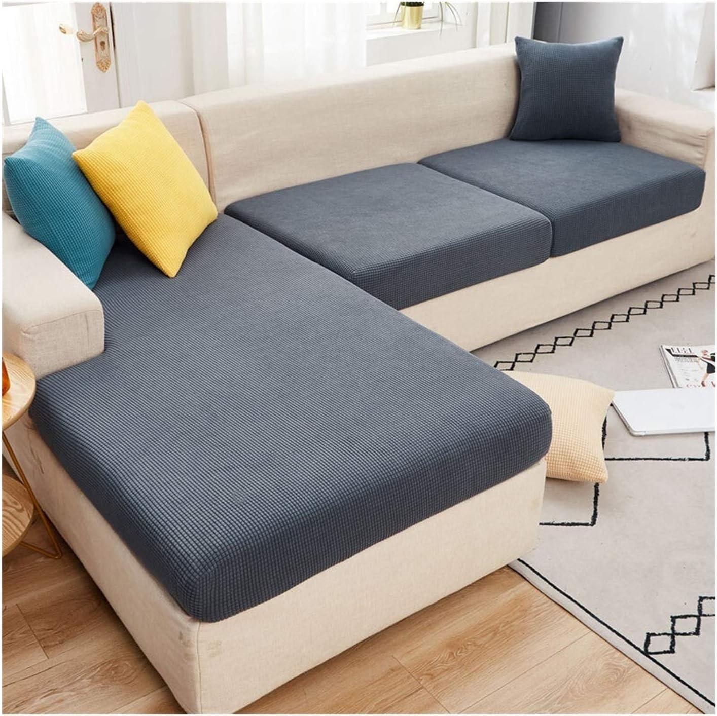 JPMSB Sofa Seat Cushion Cover Furniture Pro 1 year warranty Solid Elastic mart Color