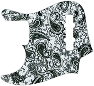 WD Custom Pickguard For Left Hand Fender USA, Made In Mexico, Or Made In Japan 20 Fret Geddy Lee Jazz Bass