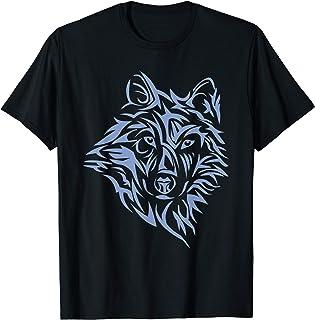 Wolf Lone Northern Dog Hommes Femmes Garçons Filles Enfants T-Shirt
