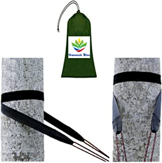 Hammock Bliss Tree Straps - Hang Any Hammock With Ease - Fast Setup - Extra Wide - Super Strength - Amazingly Lightweight - Only 3 oz