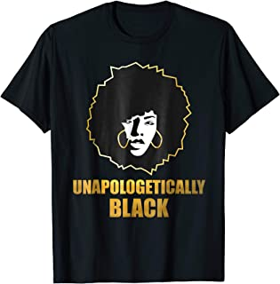 Unapologetically Black Shirt Black Lives Matter T-Shirt