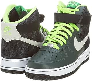 Nike Men's Air Force 1 High '07 Vintage Green/Mortar/Black Basketball Shoes 10 Men US