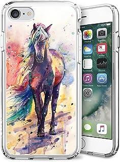 Blue Glitter Anchor iPhone 7 8 Case Customized Design Anti-Scratch Flexible Shock Absorption Soft TPU Protective Phone Cas...