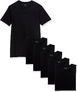 Amazon Essentials Paquete de 6 Camisetas con Cuello en V para Hombre