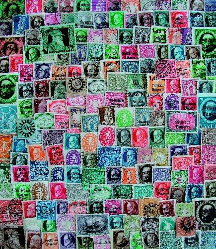 Goldhahn 100 Briefmarken Bayern - Briefmarken für Sammler [Spielzeug]
