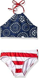 ملابس سباحة بيكيني مكوّنة من قطعتين للبنات عليها عبارة ماهينا بيتش سبورت هالتر من كانو سيرف