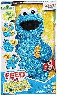 Hasbro Sesame Street Feed Me Cookie Monster Plush Toy Standard
