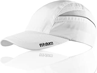 Fitdom Lightweight All Sports Cap Perfect Hat for Running, Hiking, Tennis, Golf