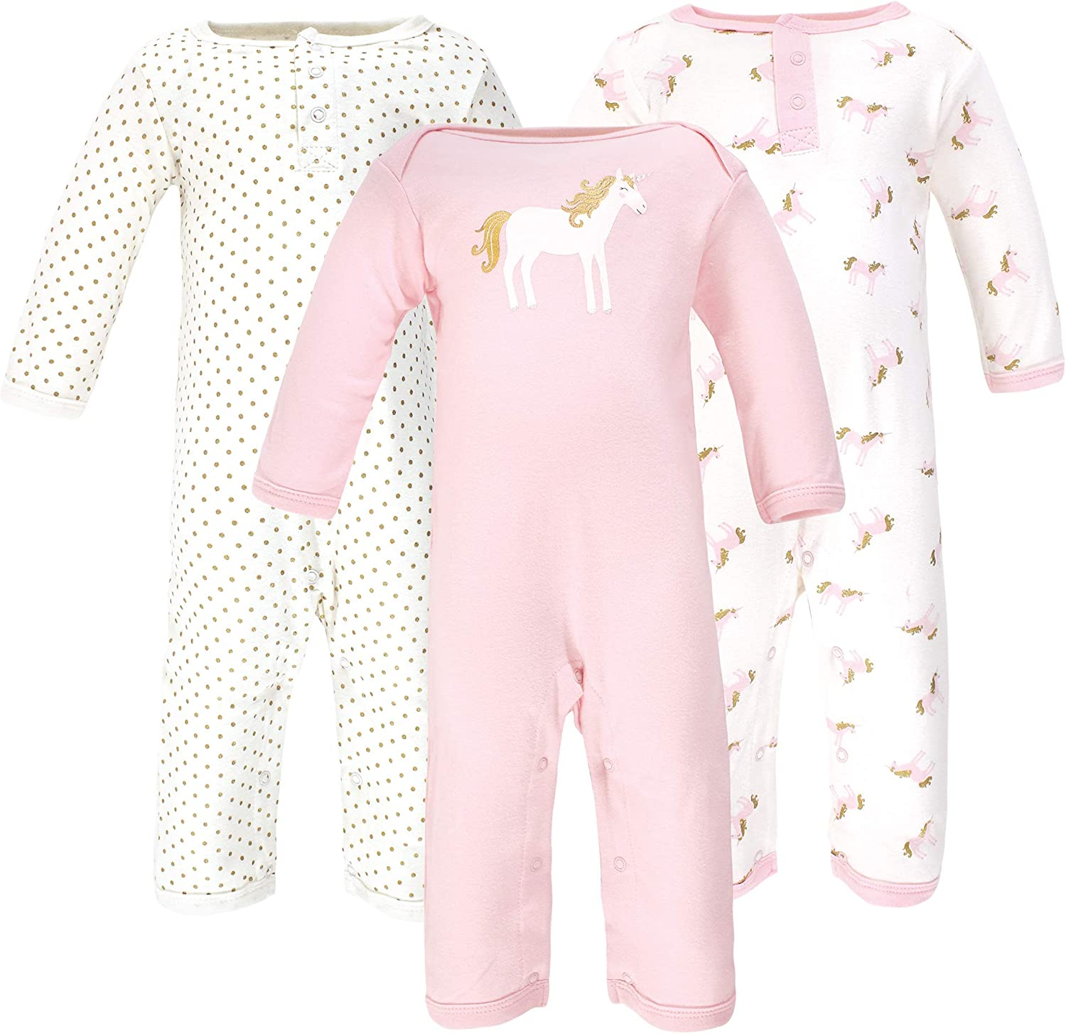 Hudson Baby Unisex Baby Cotton Coveralls