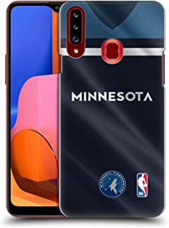 Official NBA Road Jersey 2018/19 Minnesota Timberwolves Hard Back Case Compatible for Samsung Galaxy A20s (2019)