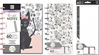 MAMBI Classic Happy Notes One of a Kind Notebook, Happy Note Half Sheet Notebook and Half Sheet Fill Paper - 3 Items