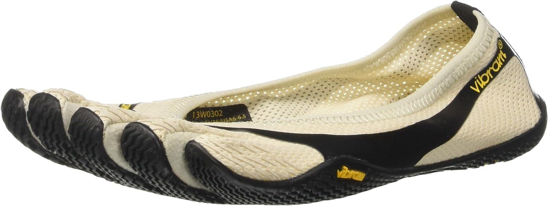 Ny Vibram FiveFingers FiveFingers FiveFingers Entrada Cream  svart  grå 39 kvinnor skor  upp till 65% rabatt