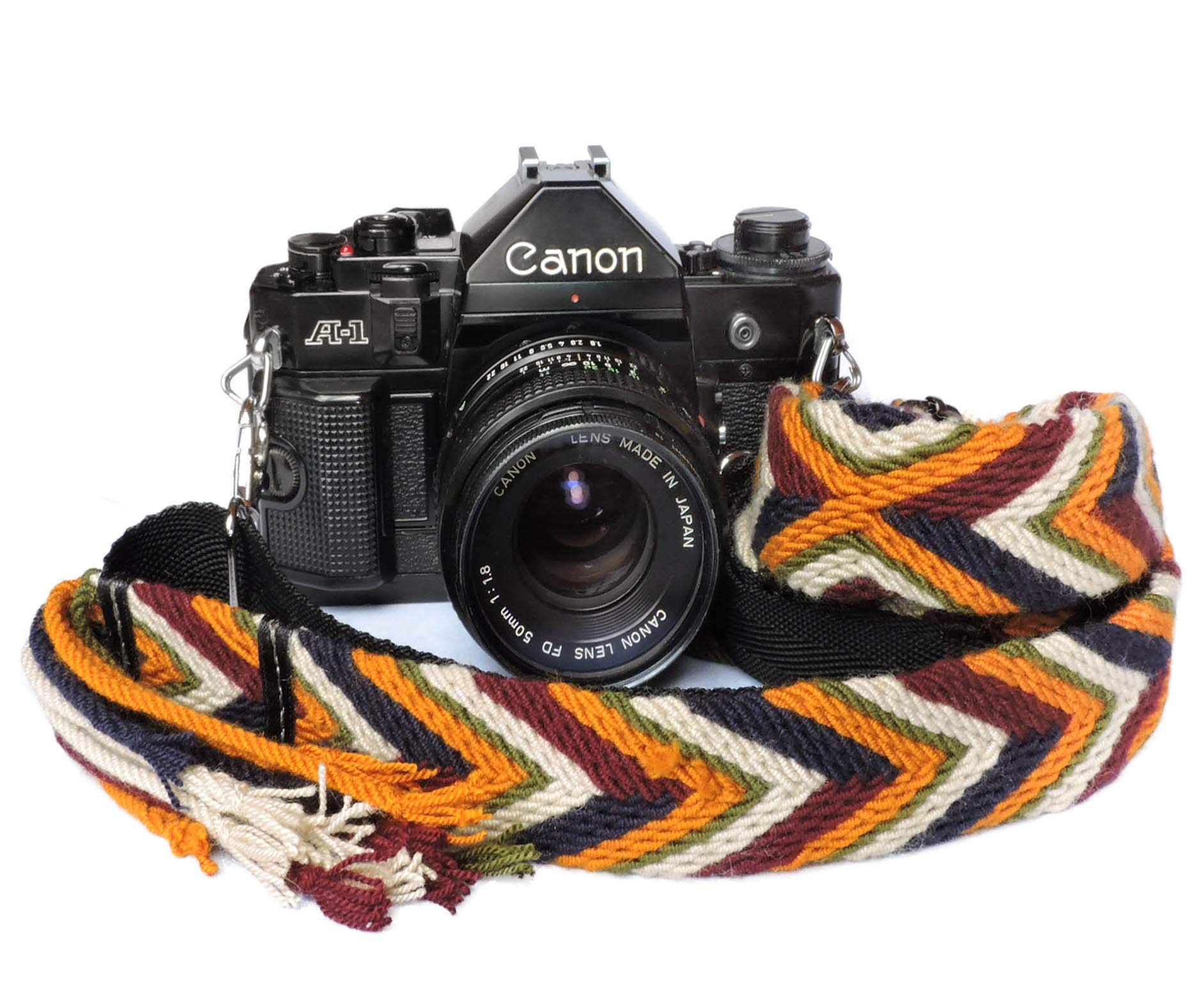 HUIFANGBU JHY Retro Ethnic Style Multi-Color Series Shoulder Neck Strap Camera Strap for SLR//DSLR Cameras Color : Color3