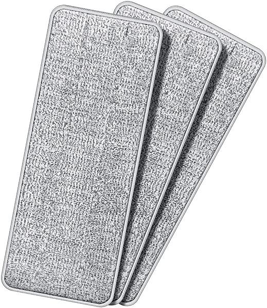TETHYS 3 Pack Microfiber Cleaning Pad