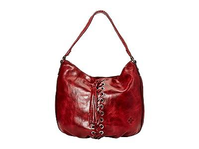 Patricia Nash Bello Hobo (Red) Hobo Handbags