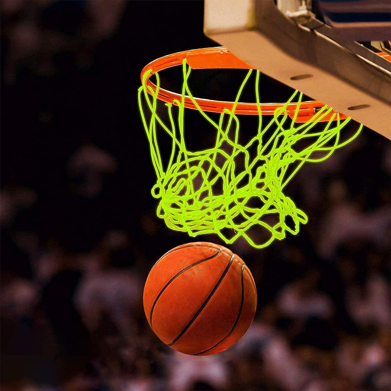 AUBESTKER Basketball Net Glow in The Outdoor Dark Max Dallas Mall 50% OFF