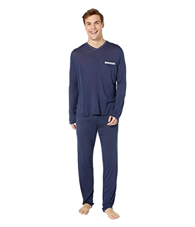 HOM Relax Long Sleepwear (Navy) Men