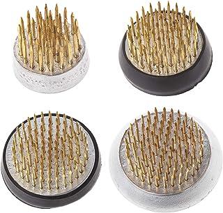 """Girasool Kenzan circulaire pour ikebana avec joint en caoutchouc Outil pour arrangement floral, 1#:2.3x2cm/0.9x0.78"""""""
