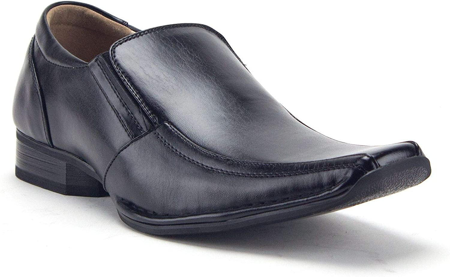 Men's 99374 Slip On Square Toe Classic Loafers Dress Shoes