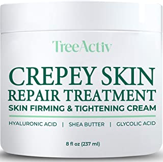 TreeActiv Crepey Skin Repair Treatment | Skin Firming & Tightening Lotion for Neck,..