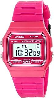 [カシオ]CASIO 腕時計 デジタル F-91WC ユニセックス[逆輸入品] (ピンク) [並行輸入品]