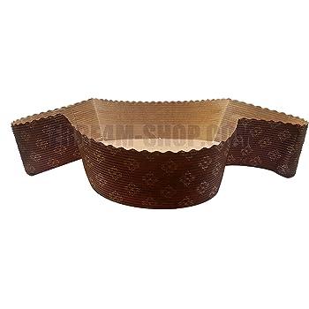 Stampo colomba pasqua gr 500 carta forno forma dolce 10 pz.