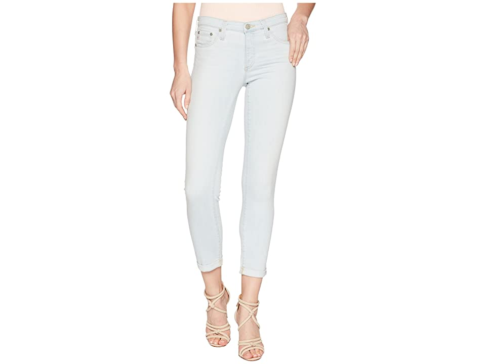 AG Adriano Goldschmied Prima Roll Up in 26 Years Sandcastles (26 Years Sandcastles) Women's Jeans, White