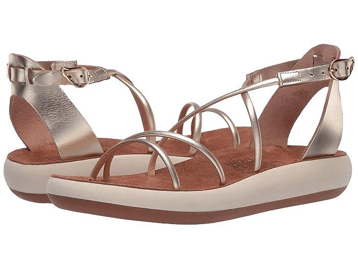 Ancient Greek Sandals  Anastasia Comfort (Platinum) Womens Shoes