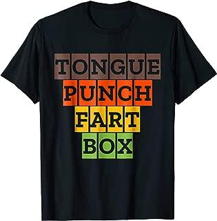 Tongue Punch Fart Box Funny Sexual Tshirt