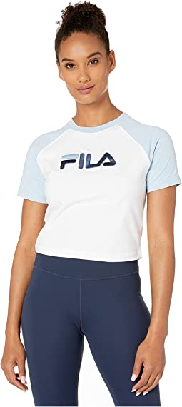 466c15b29a Fila nikki crop cold shoulder top | Shipped Free at Zappos