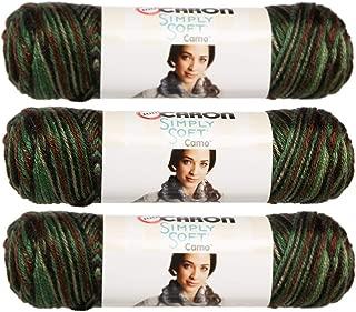 Best simply soft camo yarn Reviews