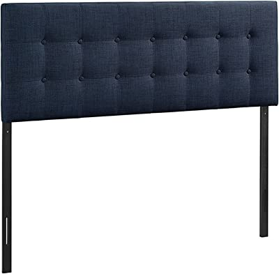 Amazon.com - Modway Lily Tufted Faux Leather Upholstered ...